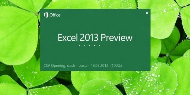 Καλωσορίσατε στο Νέο Excel 2013